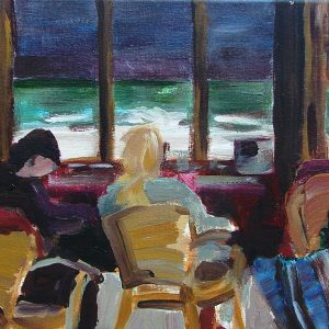 Untitled, 25 x 30 cm, acrylic on canvas, 2004