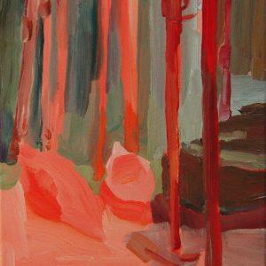 Kayak # 2, 35 x 30 cm, acrylic on canvas, 2005