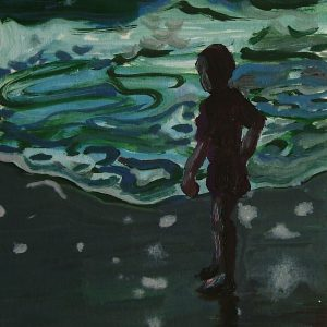 Boy # 2, 23 x 17 cm, oil on paper, 2007