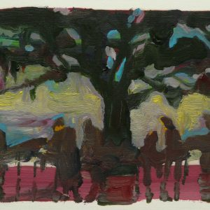Untitled # 1, oil on paper, 23 x 30 cm, 2008