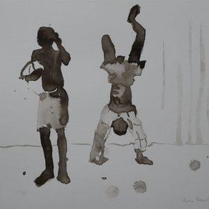 Boys, 24 x 32 cm, ink on paper, 2008