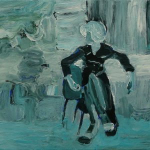 Untitled # 1, 35 x 45 cm, acrylic on canvas, 2008