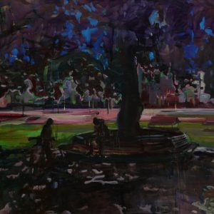 Big shade, 100 x 140 cm, oil on canvas, 2008