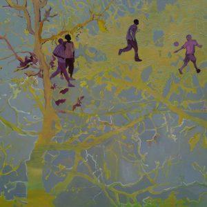 The Park, 140 x 200, oil on canvas, 2009