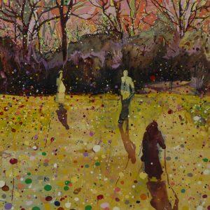 Spring, 120 x 180 cm, oil on canvas, 2008