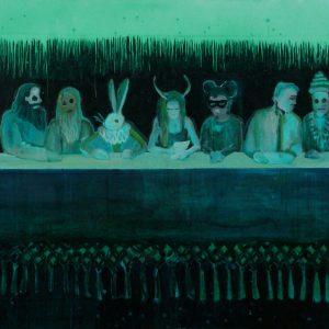 Jury, 125 x 200 cm, oil on canvas, 2009