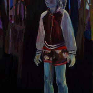 Lucid Boy, 180 x 90 cm, oil on canvas, 2009
