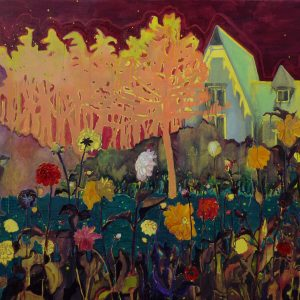 French House, 130 x 190 cm, oil on canvas, 2009