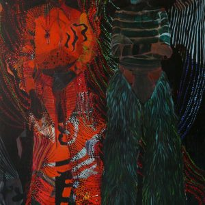 The Fabulous Two, 200 x 140 cm, oil on canvas, 2010