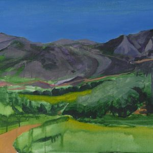 Landscape # 2, 45 x 60 cm, acrylic on canvas, 2010
