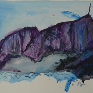 Gibalto # 1, 32 x 48 cm, acrylic on paper, 2010