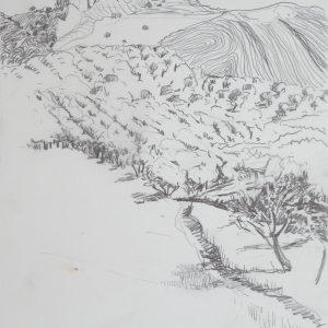 Gibalto # 2, 32 x 24 cm, pencil on paper, 2010