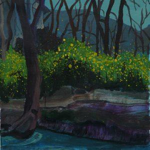 Riverside # 2, 45 x 35 cm, acrylic on canvas, 2010