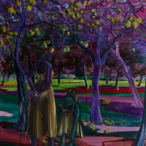 Orchard, 180 x 150 cm, oil on canvas, 2011