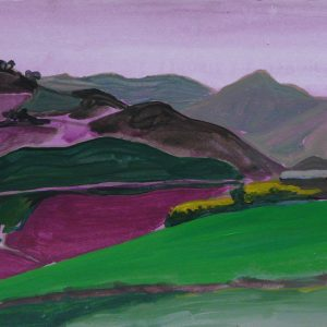 Camporeale # 1, 25 x 50 cm, acrylic on paper, 2012