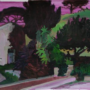 The old house # 2, 29 x 41 cm, acrylic on paper, 2012