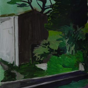The old house # 3, 41 x 29 cm, acrylic on paper, 2012