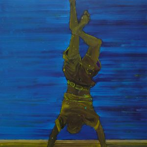 Edge # 1, 125 x 100 cm, oil on canvas, 2013