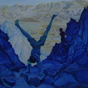 Edge # 2, 150 x 180 cm, oil on canvas, 2013