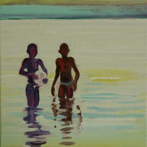 Lake # 5, 25 x 25 cm, oil on canvas, 2013