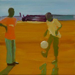 Balletje, 25 x 25 cm, oil on canvas, 2013