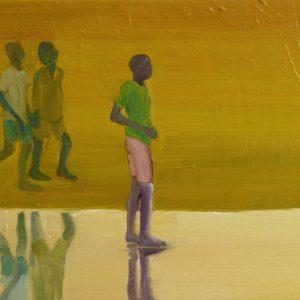 Mirror, 30 x 50 cm, oil on canvas, 2013