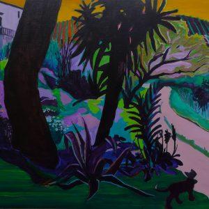The Garden, 125 x 190 cm, oil on canvas, 2012/2013
