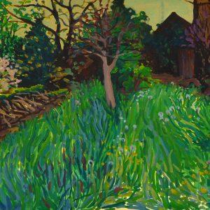 Garden # 2, 29,8 x 41 cm, acrylic on paper, 2013