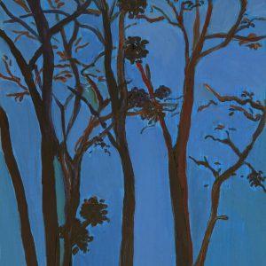 Mistletoe # 2, 31 x 23 cm, acrylic on paper, 2013
