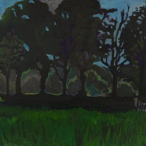 Lane # 1, 25 x 50 cm, acrylic on paper, 2013