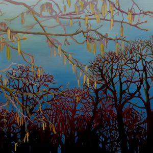 The Promise, 130 x 190 cm, oil on canvas, 2014