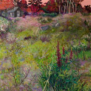 Wasteland # 3, 140 x 160 cm, oil on canvas, 2014