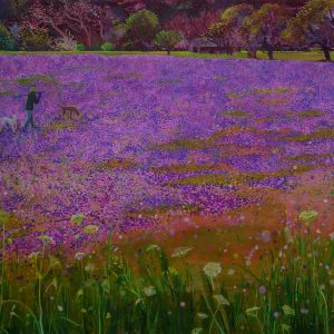 Meadow, 140 x 200 cm, oil on canvas, 2014