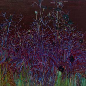 Dark Summer, 100 x 135 cm, oil on canvas, 2014