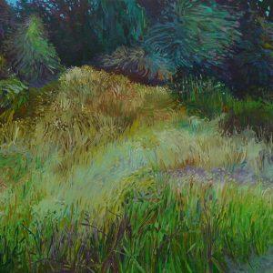 Grassland # 3, 100 x 125 cm, oil on canvas, 2015