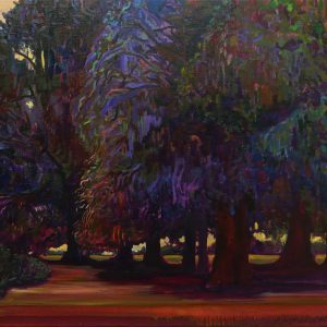 Prussian Trees, 85 x 95 cm, oil on canvas, 2016
