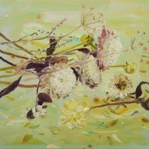Fall # 2, 30 x 30 cm, oil on canvas, 2016