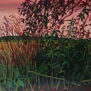 Akker # 2 (Brandenburg), 35 x 50 cm, acrylic on paper, 2016