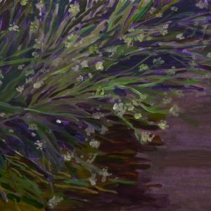 Pollen (Brandenburg), 25 x 50 cm, acrylic on paper, 2016