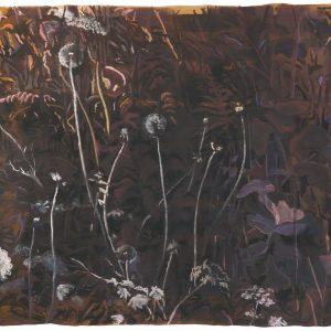 Undergrowth # 2, 53 x 59 cm, mixed media on paper, 2017
