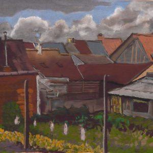 Daken, 35 x 50 cm, pastel on paper, 2017