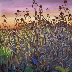 Illuminated, pastel on paper, 60 x 48 cm, 2021
