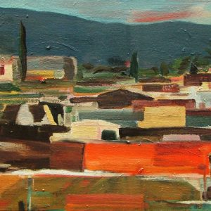 Morocco # 4, 35 x 45 cm, oil on canvas, 2004