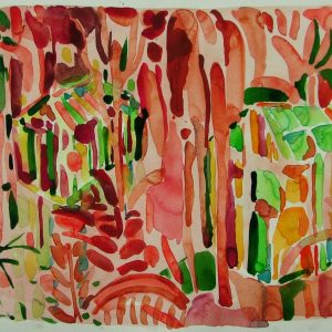 Untitled # 3, 37,5 x 48 cm, watercolour on paper, 2005