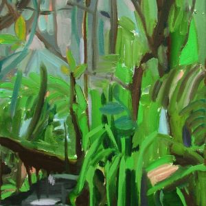 Swamp # 3, 45 x 35 cm, oil on canvas, 2005