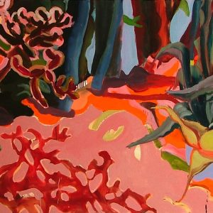 Untitled # 1, 115 x 250 cm, oil on canvas, 2005