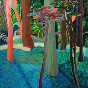 Spot, 125 x 125 cm, oil on canvas, 2005