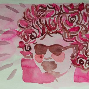 Splendid, 21 x 30 cm, water colour on paper, 2006