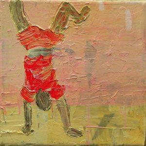 Boy # 2, 25 x 25 cm, acrylic on canvas, 2006