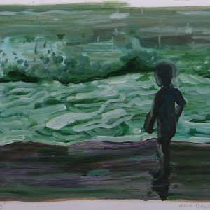 Boy # 1, 24 x 32 cm, oil on paper, 2007